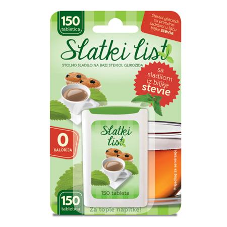 Sladki list Stevia, Reb-A, 15 g