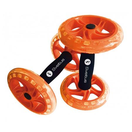 Double AB Wheel, Orange