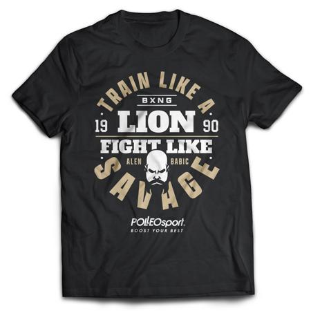 Train like a Savage T-Shirt, Black