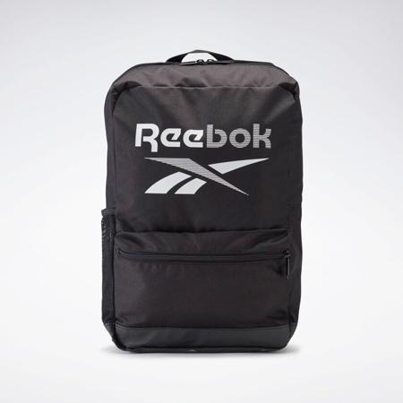 Reebok Training Essentials Medium Backpack, Black/White