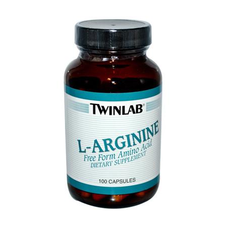 L-Arginin, 100 kapsul