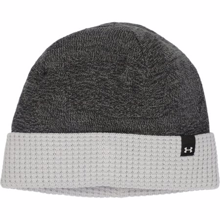 UA Reversible Beanie, Black/Grey