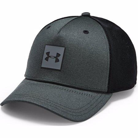 UA Armour Twist Trucker Cap Headwear, Black/Grey