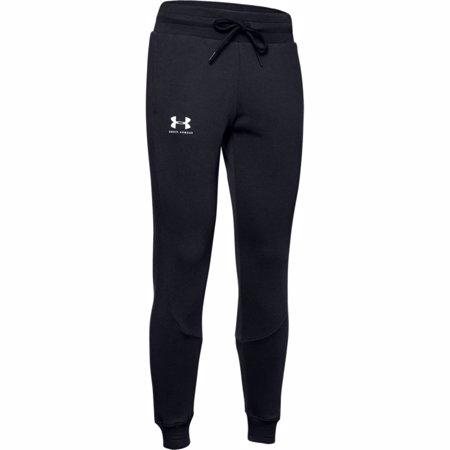 UA Rival Fleece Joggers Women's Pants, Black