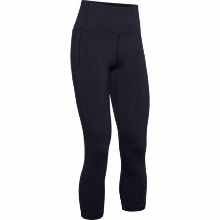 UA Meridian Crop Women's Leggings, Black