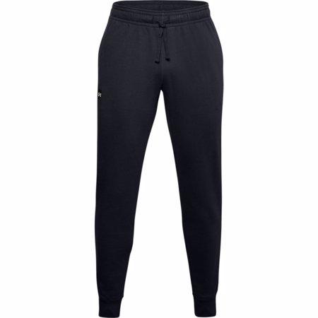 UA Rival Fleece Joggers, Black/Onyx White