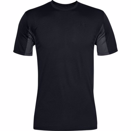 UA Training Vent Short Sleeve T-Shirt, Black