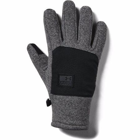 UA ColdGear Infrared Fleece Gloves, Black