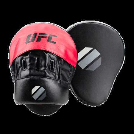 UFC Curved Focus Mitt, Black/Red
