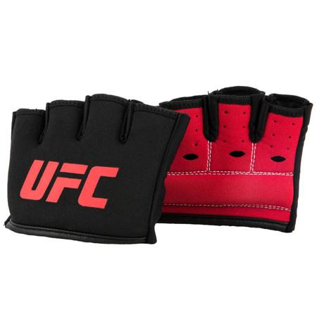 UFC Gel Knuckle Sleeves, Black/Red