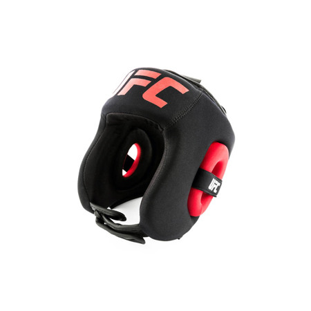 UFC PRO Grapping Head Gear, Black/Red