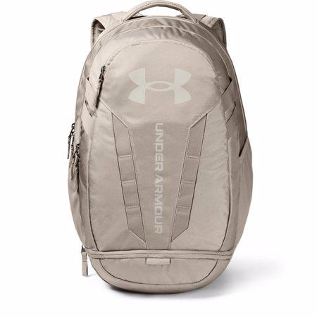 UA Hustle 5.0 Backpack, Highland Buff/Summit White