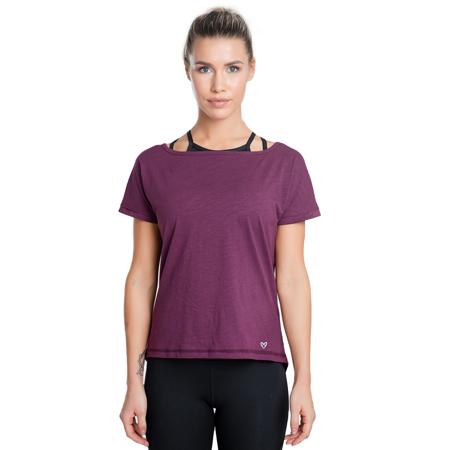 Eminence Long T-shirt, Plum