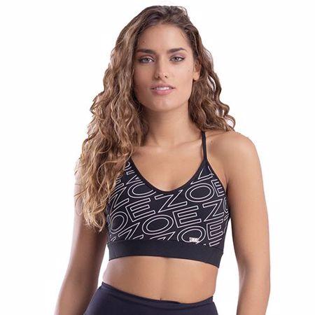 Zoe Sports Bra Plus, Black