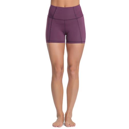 Eclipse Shorts, Plum