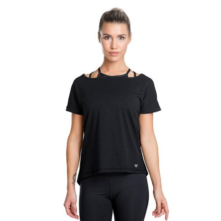 Eminence Long T-shirt, Black