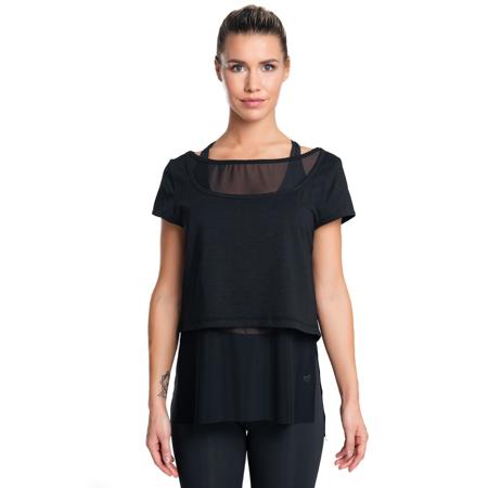 Eminence Mesh T-shirt, Black