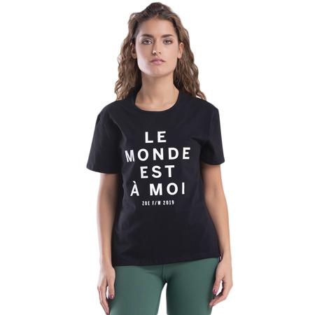 Le Monde T-shirt, Black