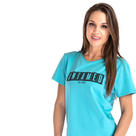 Jungle Spirit T-shirt, Mint