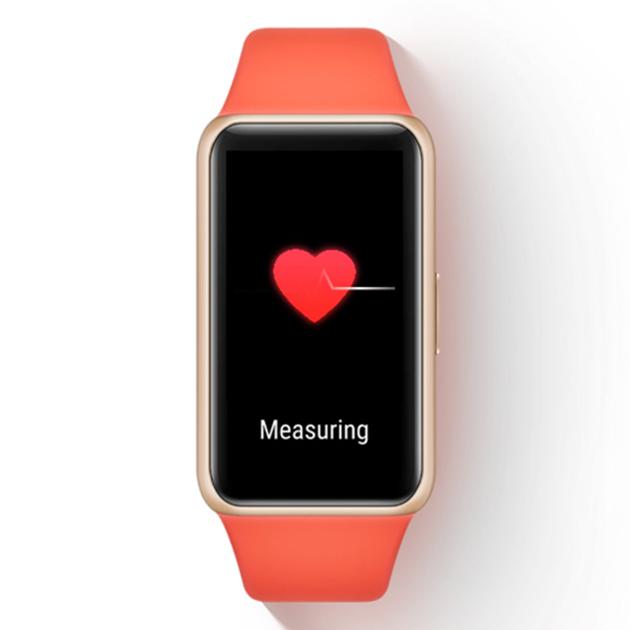 Huawei Band 6 Pulse Measuring