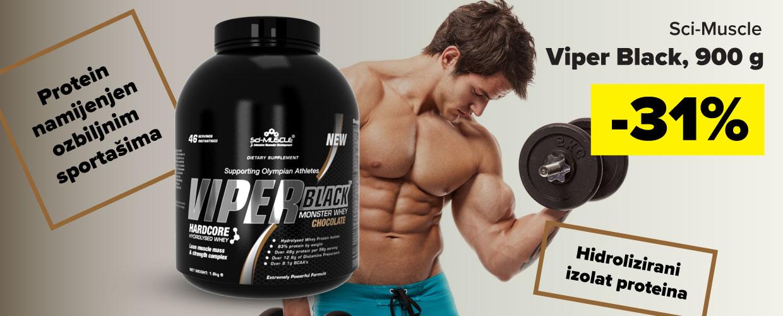 Viper Black, 900 g