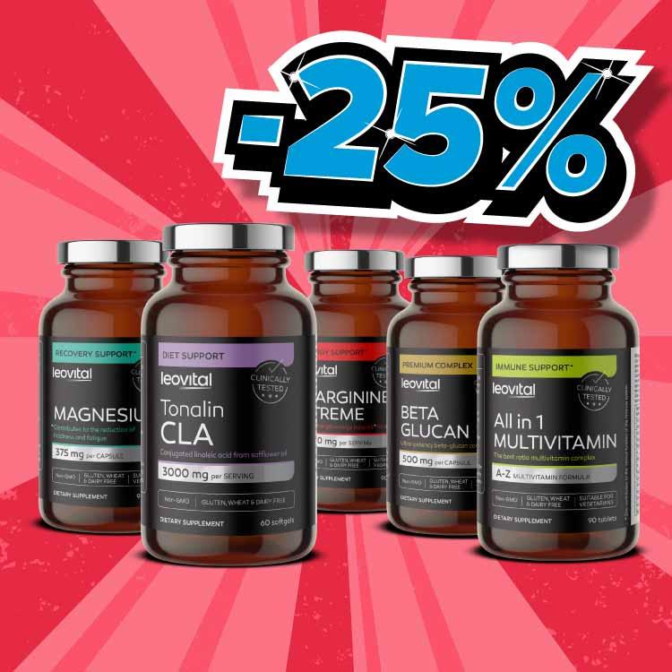 BACK2GYM <br> LEOVITAL -25%