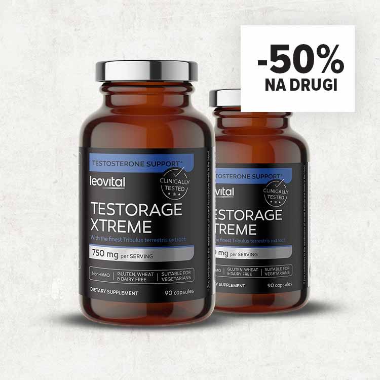 Testorage Extreme, 90 kapsula -50% na drugi kupljeni!