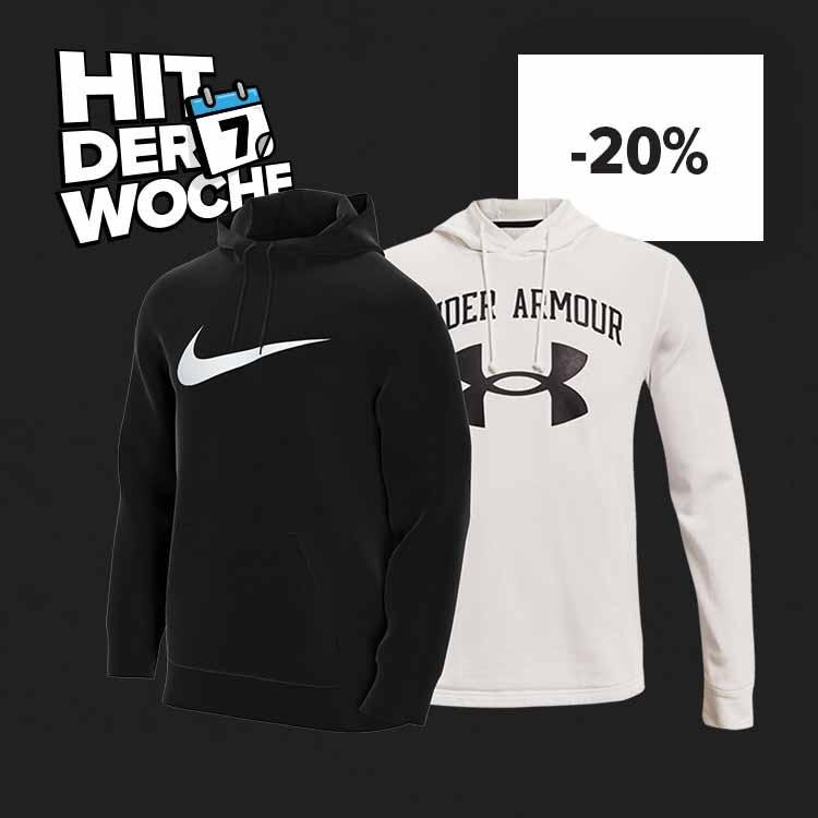 Hit der Woche: -20% auf Nike & UA