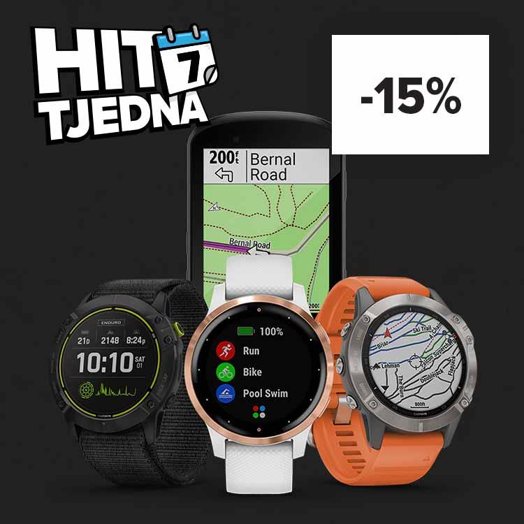 HIT TJEDNA: Cjelokupan brand Garmin snižen- 15%