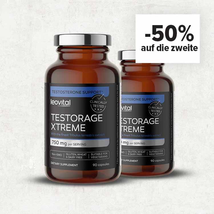 TestoRage Xtreme: -50% auf die zweite Packung