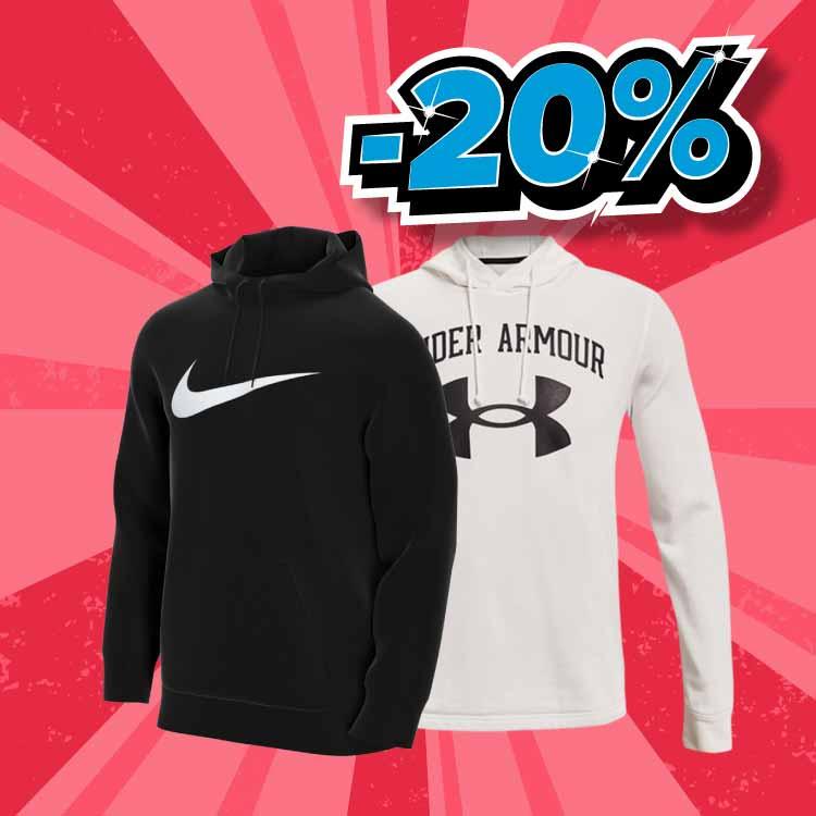 BACK2GYM - UA i Nike -20% popust na cijeli brand