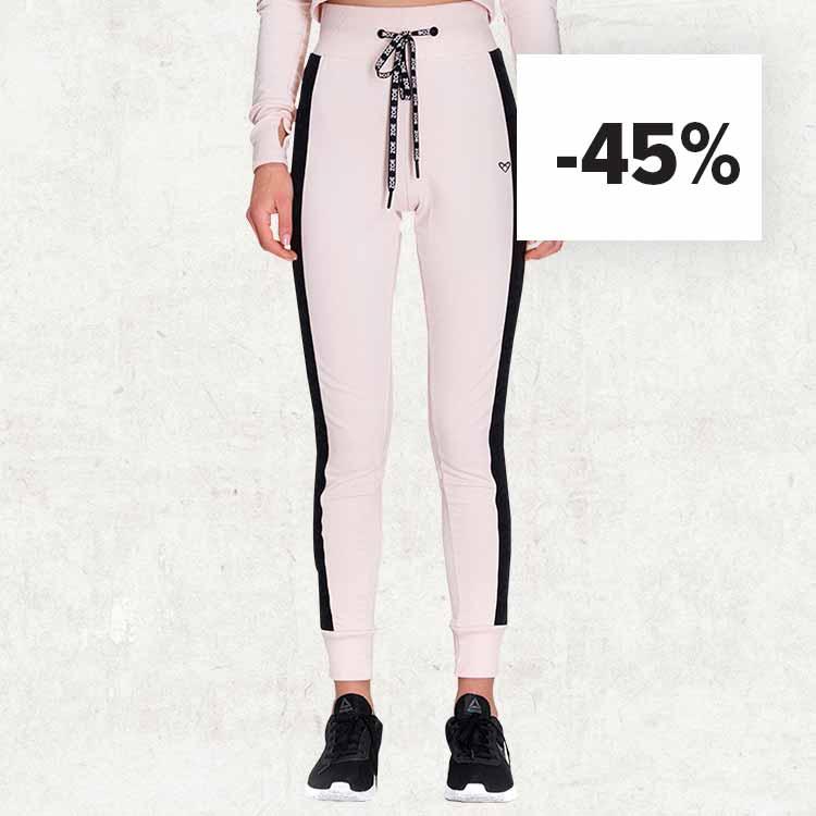 GAIA Sweatpants Pink Champagne reduziert auf 29,99eur