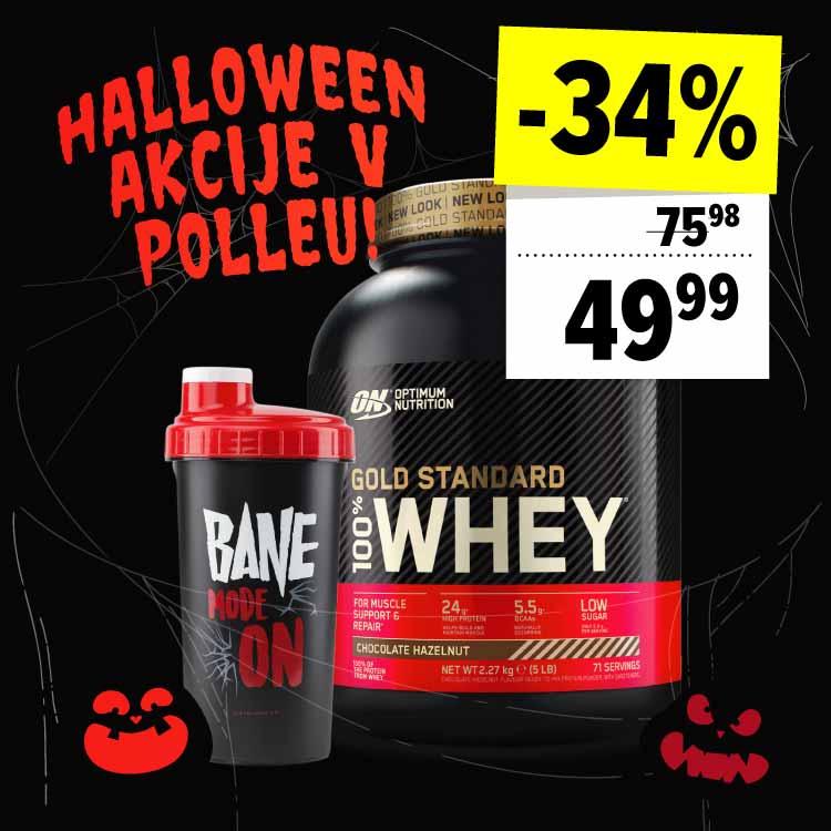 100% Whey Gold Standard + Bane CORE Shaker AKCIJA