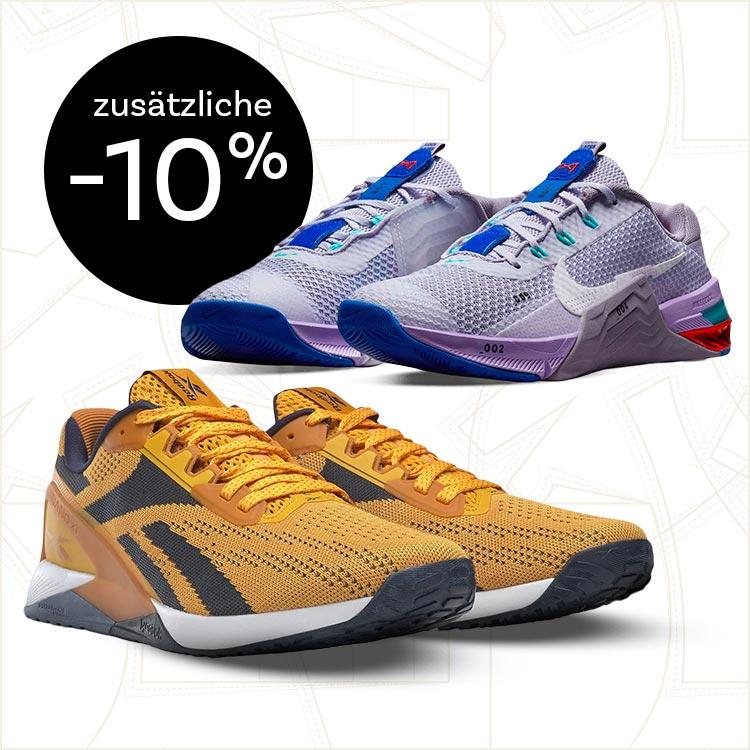 Zusätzlicher Rabatt von 10% auf alle Schuhe!