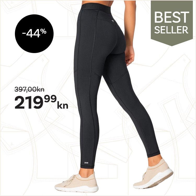Electra Leggings, Black -44%
