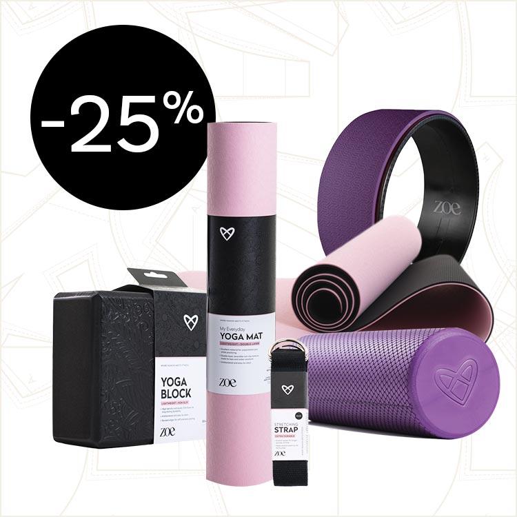 Zoe® fitness oprema snižena 25%