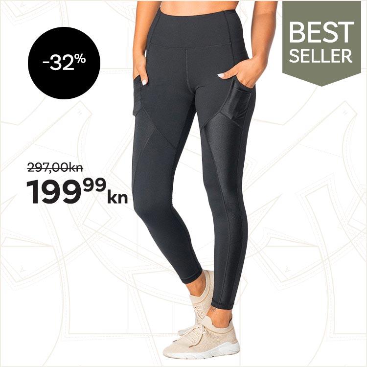 Onyx Leggings, Black -32%